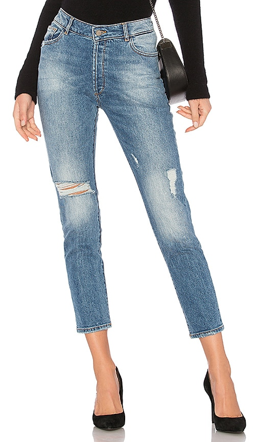 DL1961 Bella Cropped Jean in Ponderosa