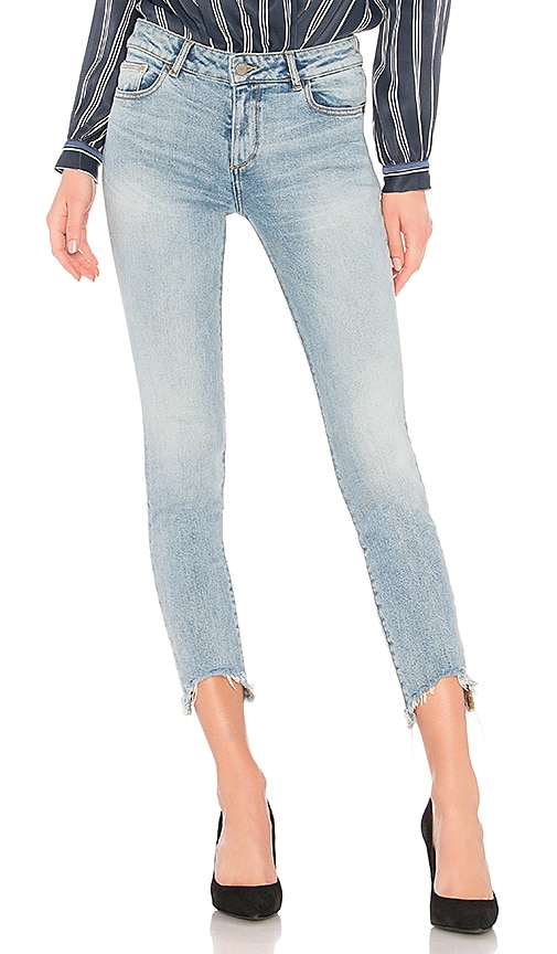 DL1961 Margaux Ankle Skinny Jean in Denim Light