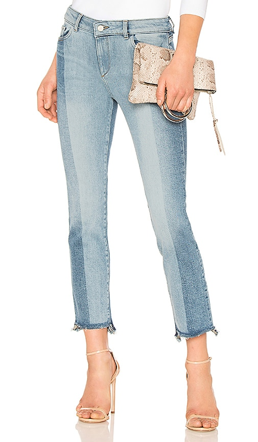DL1961 Mara Ankle Straight Jean in Denim Light