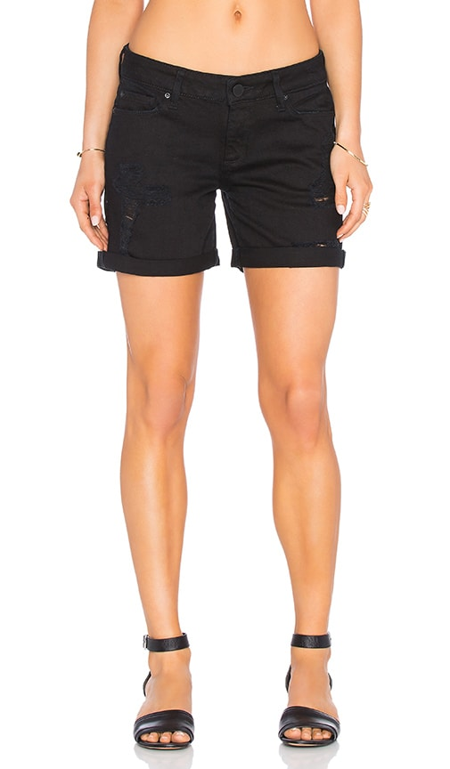 DL1961 Karlie Boyfriend Short in Baker