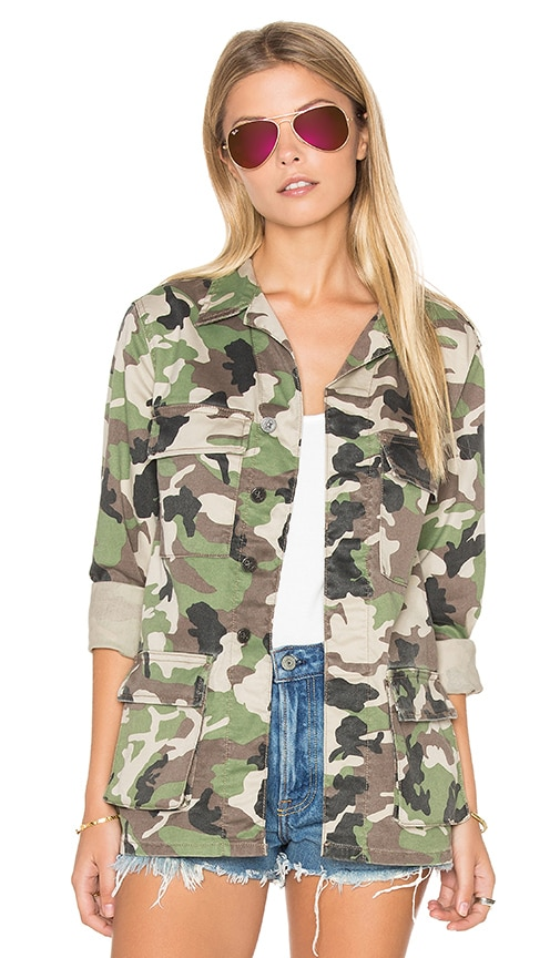DL1961 Dakota Jacket in Army