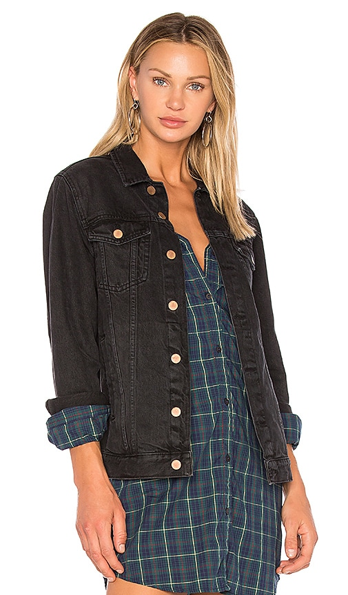 DL1961 Dahlia Denim Jacket in Cutler