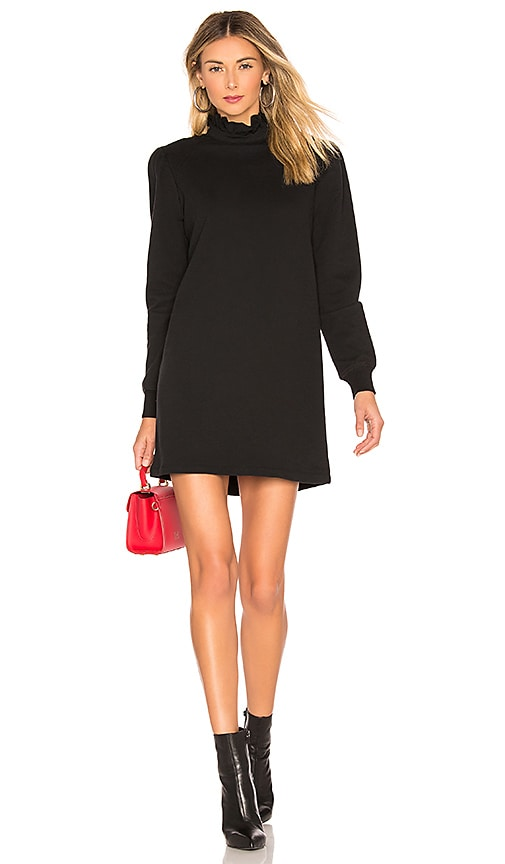 David Lerner Vanessa Dress In Black Revolve