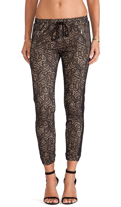 Lace Track Pant