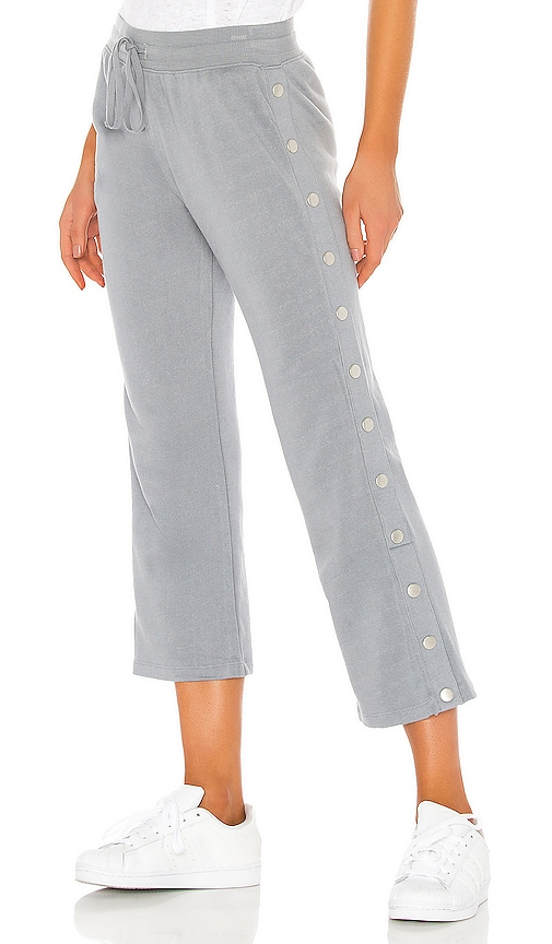 Crop Flare Side Snap Lounge Pant