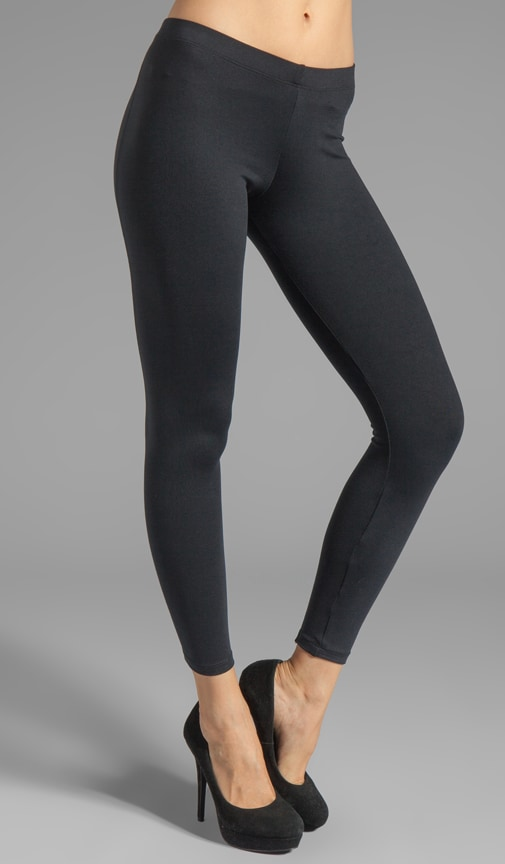 9' Back Zipper Legging