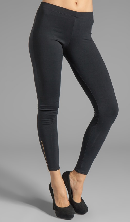 Z' Side Zipper Legging
