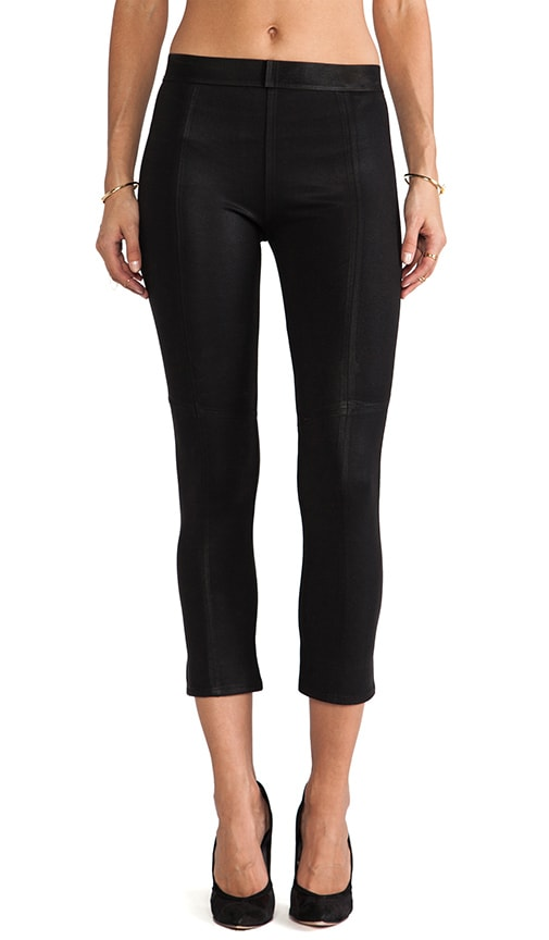 Coated Crop Legging