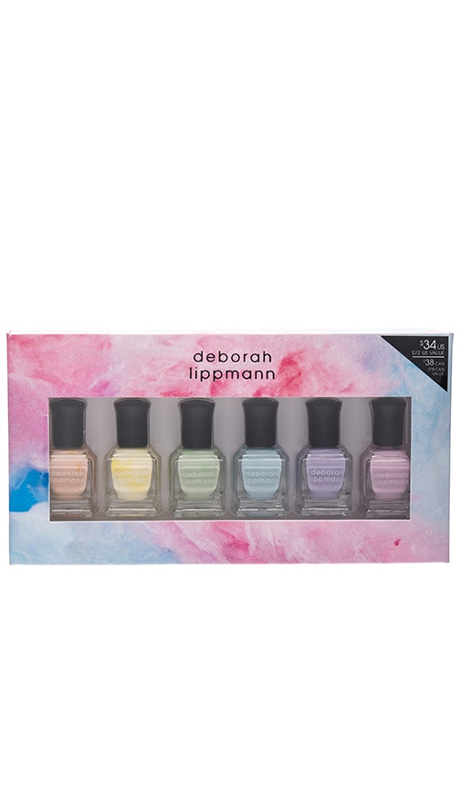 Deborah Lippmann 6 Piece Pastel Nail Lacquer Set in Sweets For My ...