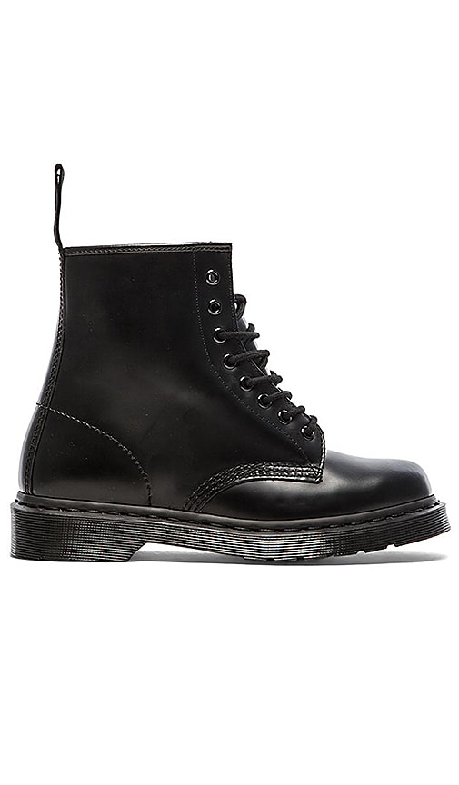 Dr. Martens 1460 8-Eye Boot in Black Mono