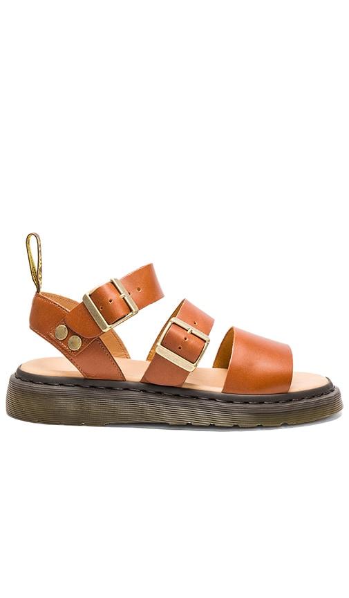 Dr. Martens Gryphon Strap Sandal in Cognac