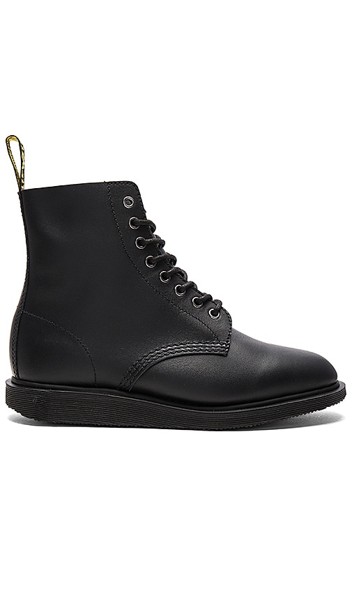 Dr. Martens Whiton 8 Eye Boot in Black