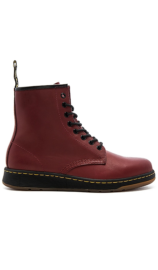 Dr. Martens Newton 8 Eye Boot in Rust