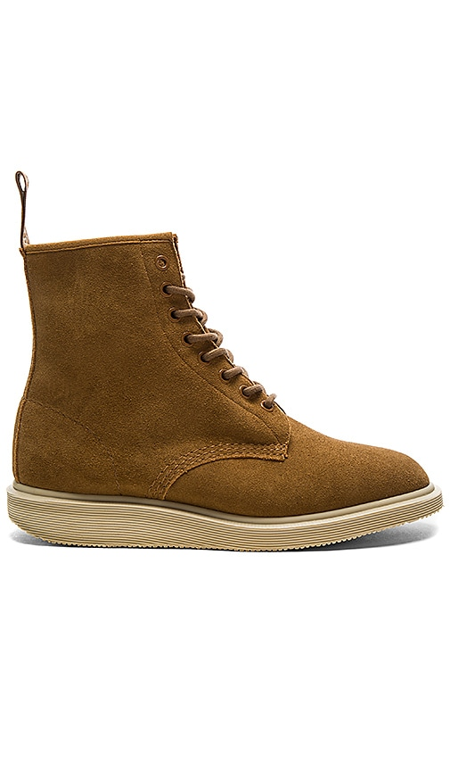 Dr. Martens Whiton 8 Eye Boot in Tan