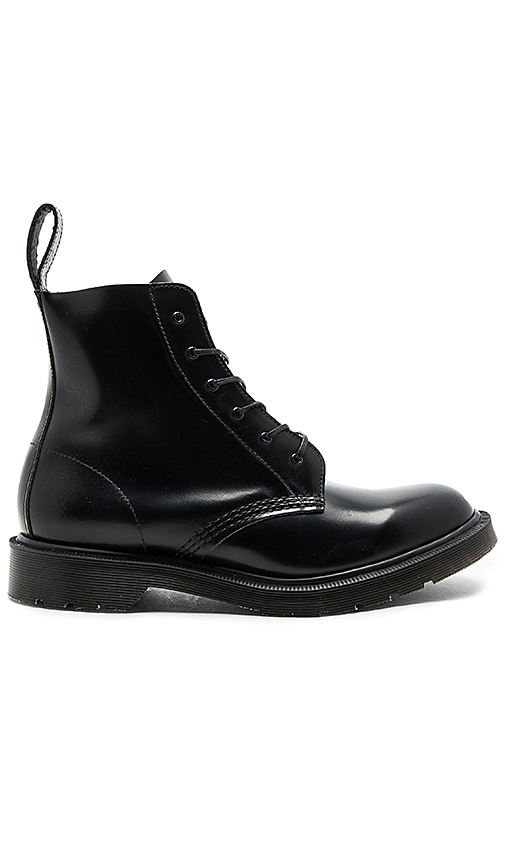 Dr. Martens Made in England Arthur 6 Eye Boot in Black