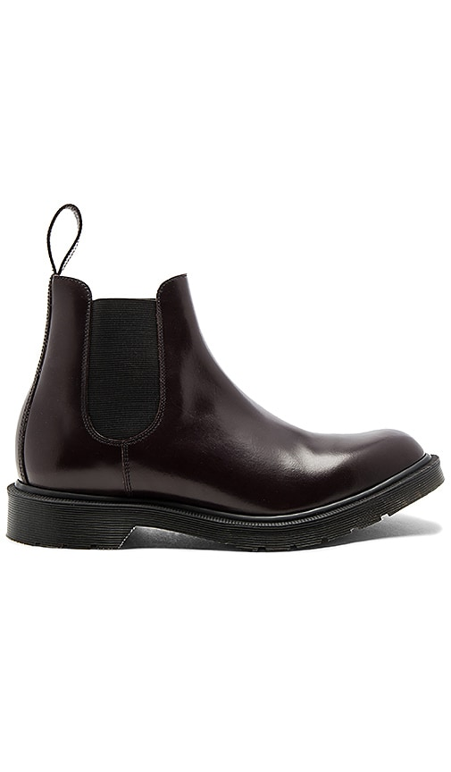 Dr. Martens Made in England Graeme Chelsea Boot in Wine