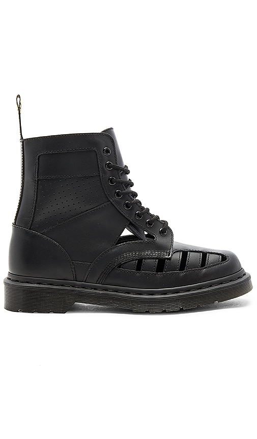 Dr. Martens 1460 CO 8 Eye Boots in Black