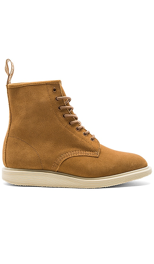 Dr. Martens Whiton 8 Eye Boots in Cognac