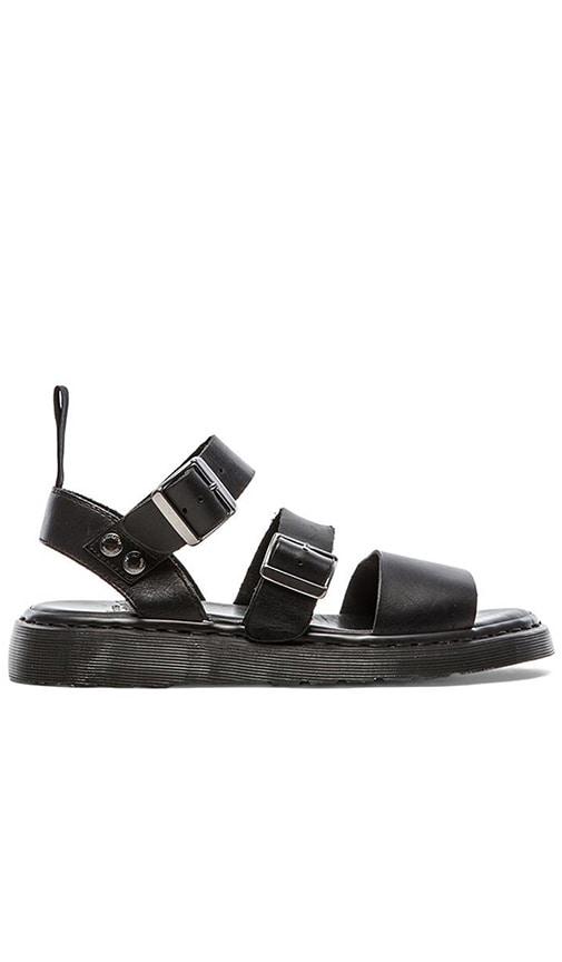 Dr. Martens Gryphon Strap Sandal in Black