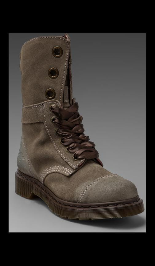 Aimee 9 Eye Toe Cap Boot