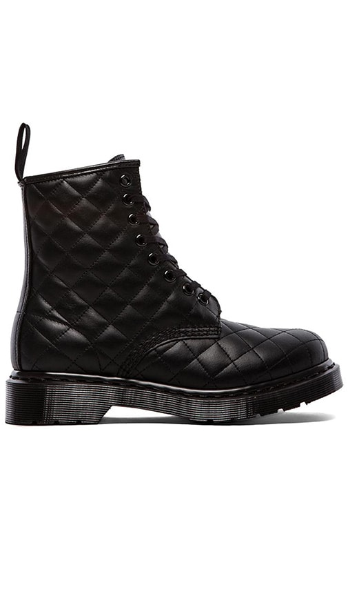 Coralie Quilted 8-Eye Boot