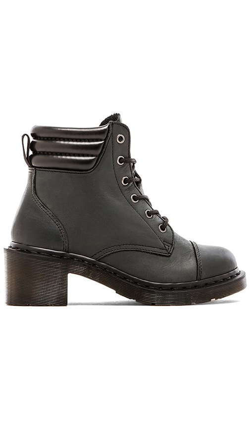 Alexandra 6-Eye Padded Collar Boot