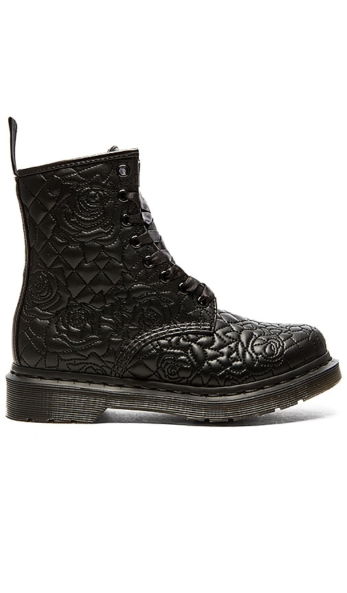 Dr. Martens Brause Rose Quilted 8-Eye