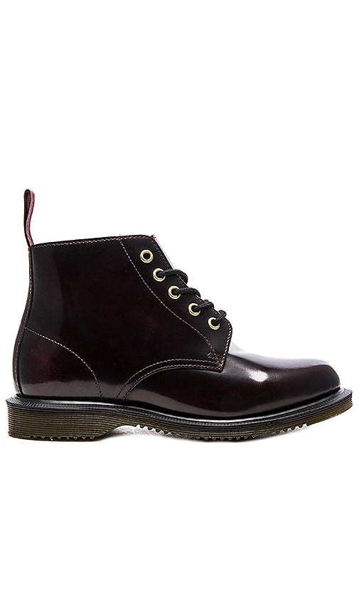 Dr. Martens Emmeline 5-Eye Boot in Wine