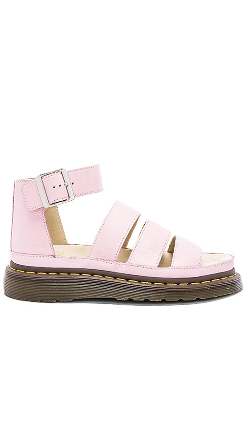 Dr. Martens Clarissa Chunky Strap Sandal in Bubblegum