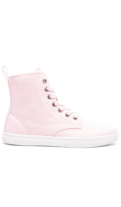 Dr. Martens Hackney 7-Eye Boot in Pink