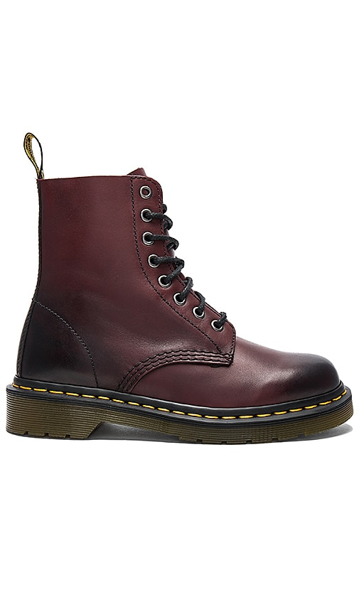 Dr. Martens Pascal 8 Eye Boot in Burgundy