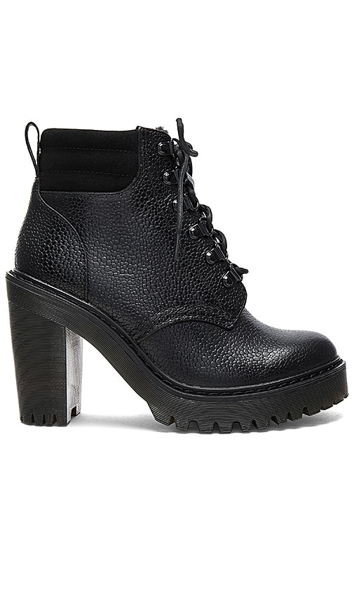 Dr. Martens Persephone FL 6 Eye Boots in Black