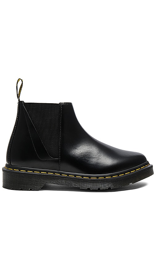 Dr. Martens Bianca Low Shaft Chelsea Boots in Black