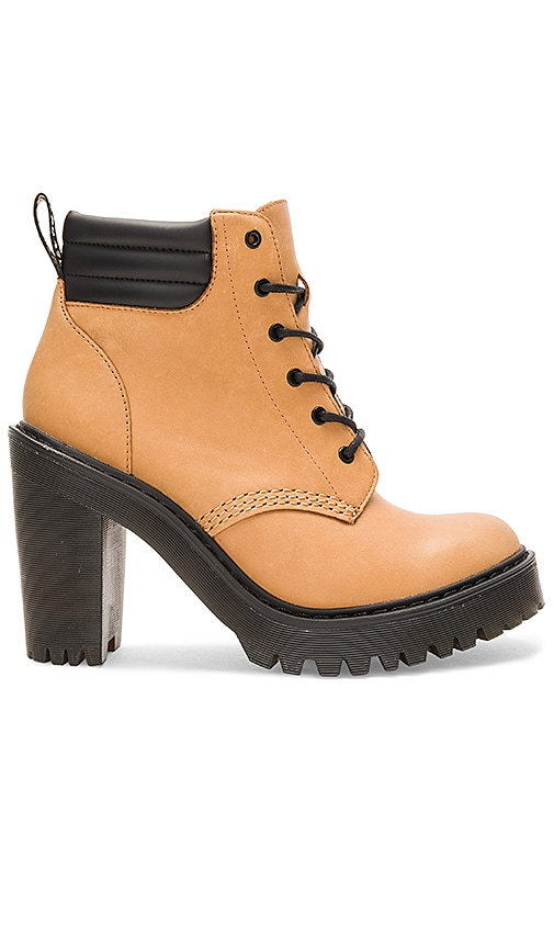 Dr. Martens Persephone Padded Collar Boot in Tan