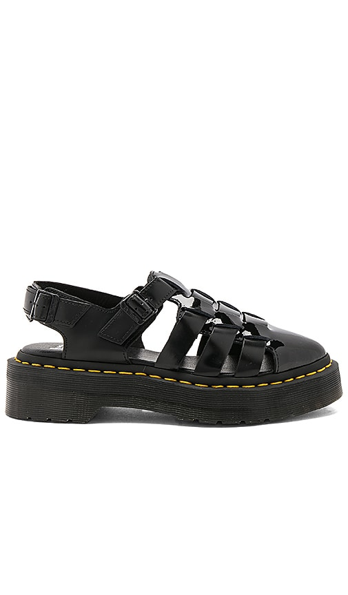 Dr. Martens Oriana Pointed Fisherman Sandal in Black