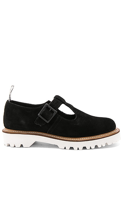 Dr. Martens Polley II T Bar Shoe in Black