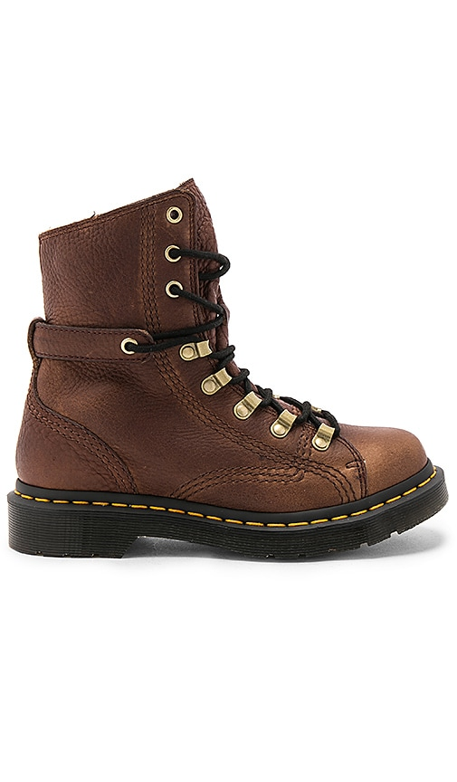 Dr. Martens Coraline LTT Boot in Brown