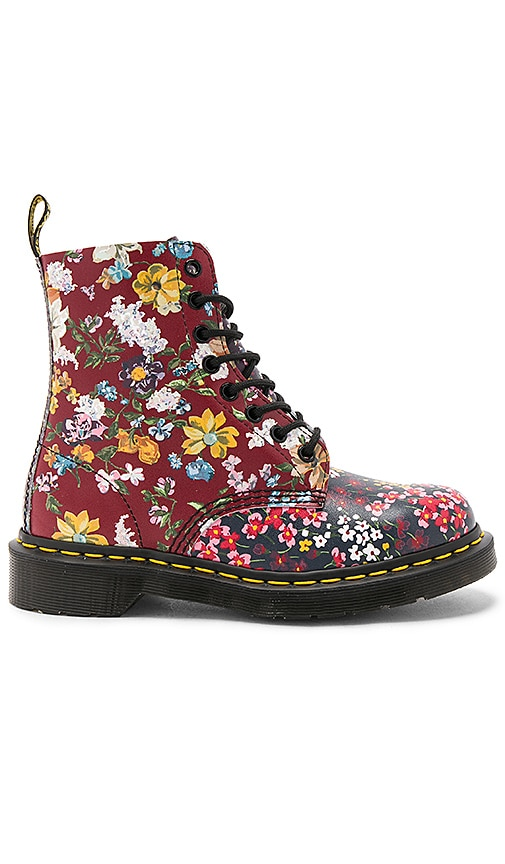 Dr. Martens Pascal FC 8 Eye Booties in Red