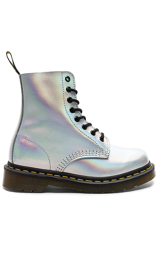 Dr. Martens Pascal IM Boot in Metallic Silver