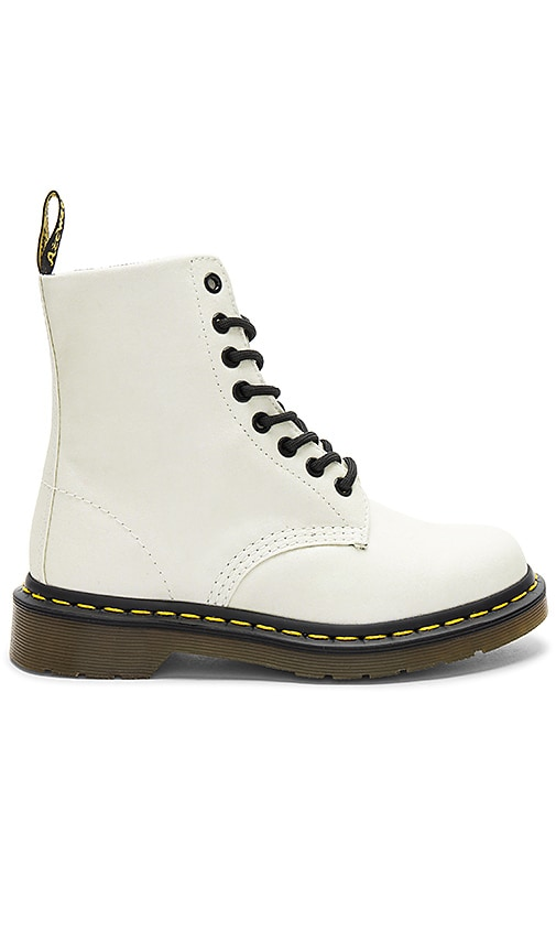 Dr. Martens Pascal Glitter Boot in White