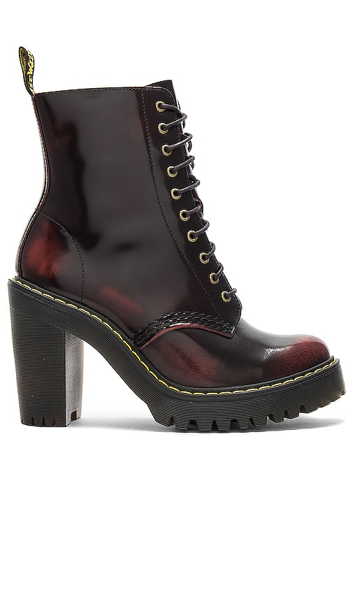 Dr. Martens Kendra Boot in Red