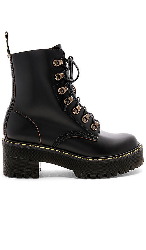 270386d6d Dr. Martens Leona Boot in Black | REVOLVE