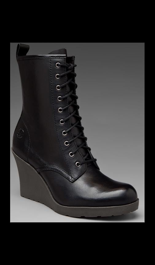Marcie 10 Eye Zip Boot
