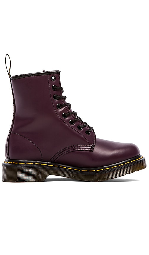 Dr. Martens Iconic 8 Eye Boot in Purple