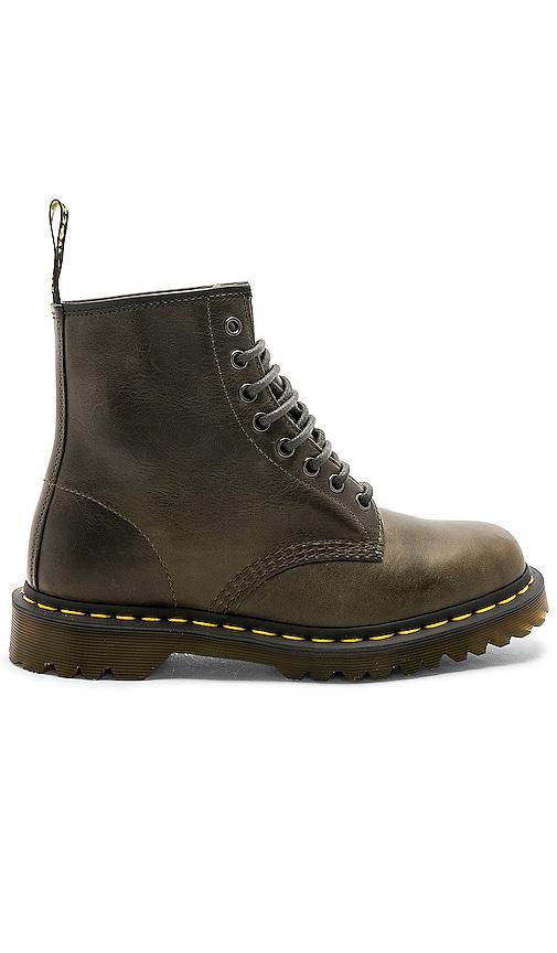 219f85250c6c5 Dr. Martens Orleans 1460 8 Eye Boot in Dark Taupe | REVOLVE