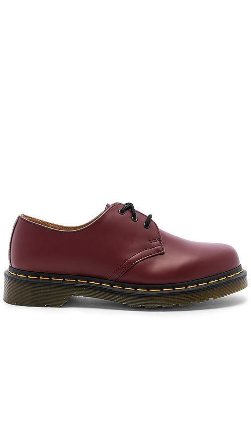 Exclusive The Hottest Style Dr. Martens 1461 W Cherry Red