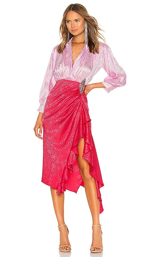 Dodo Bar Or Ida Dress.Dodo Bar Or Vestido Betta En Light Pink Strong Pink Revolve