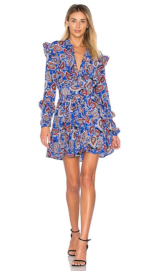 Dodo Bar Or Ida Dress.Dodo Bar Or Jagger Mini Dress In Blue Paisley Revolve
