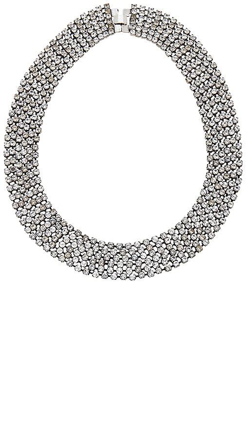 Dodo Bar Or Vanessa Necklace in Metallic Silver