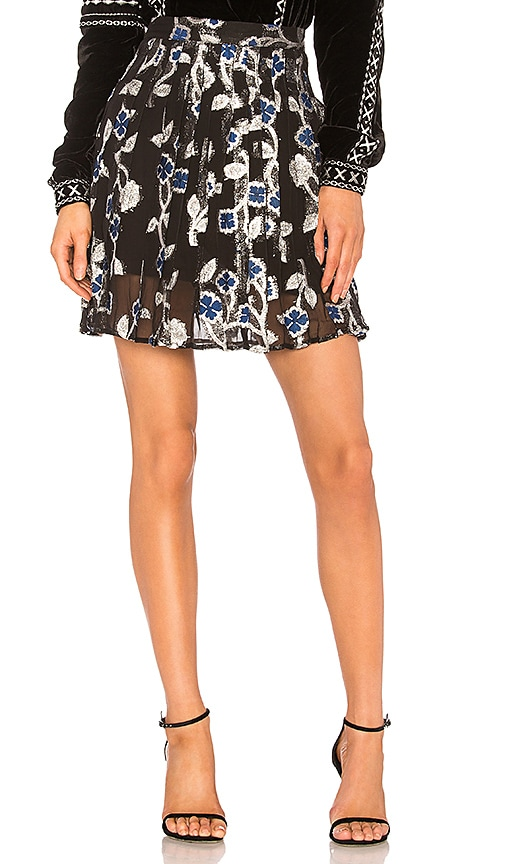 Dodo Bar Or Jenn Mini Skirt in Black